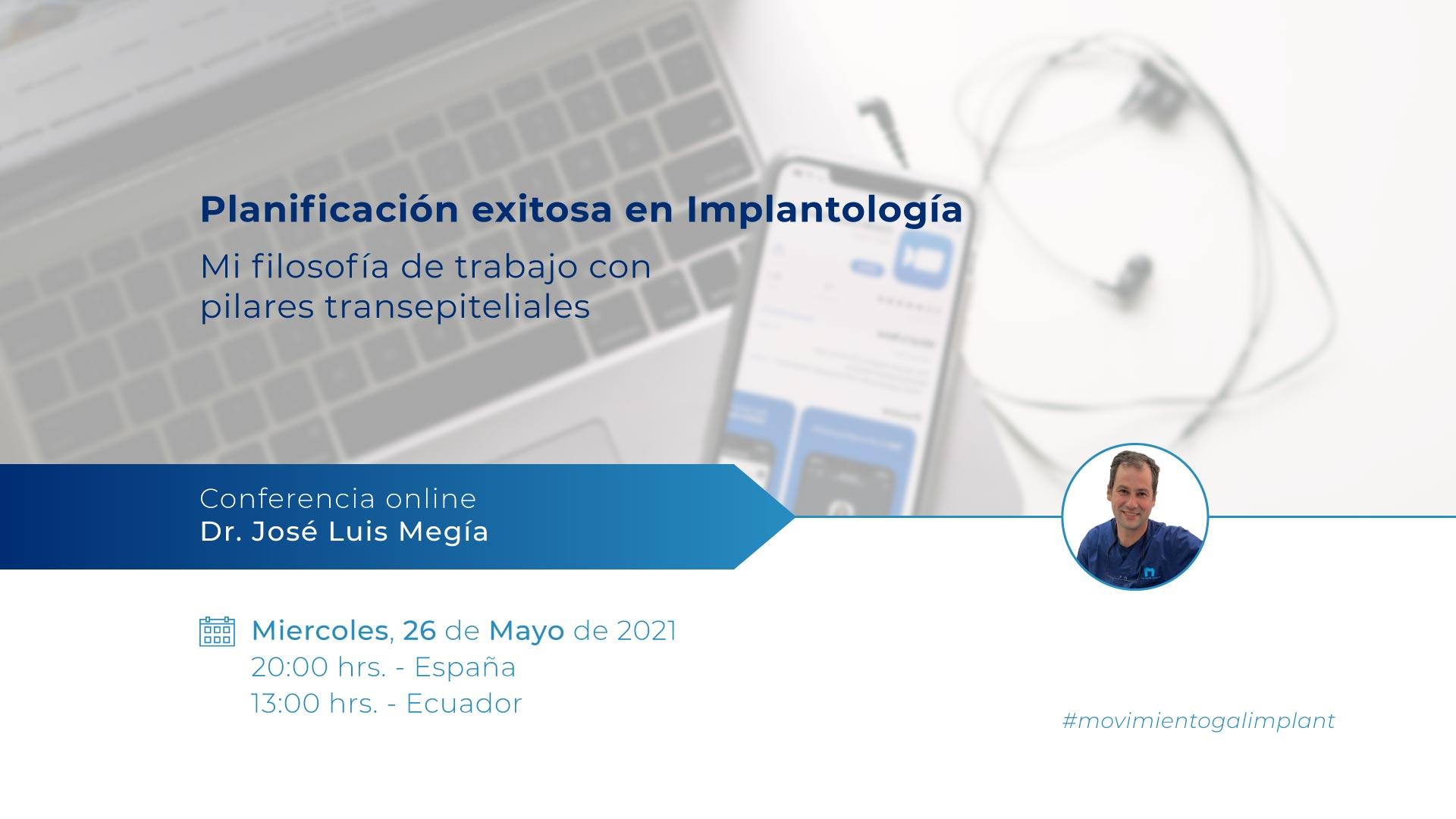 Galimplant - Conferencia online implantología